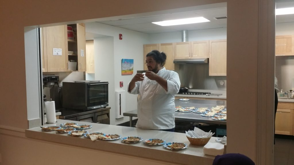 Chef Noor shares a Syrian dish