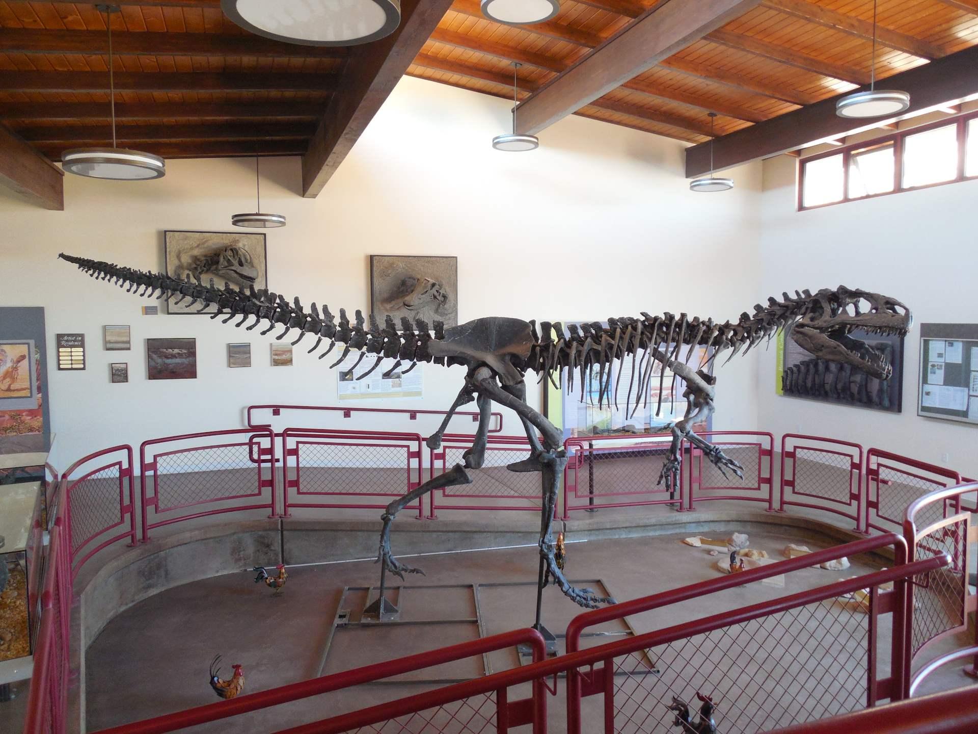 Cleveland-Lloyd Dinosaur Quarry Field Trip